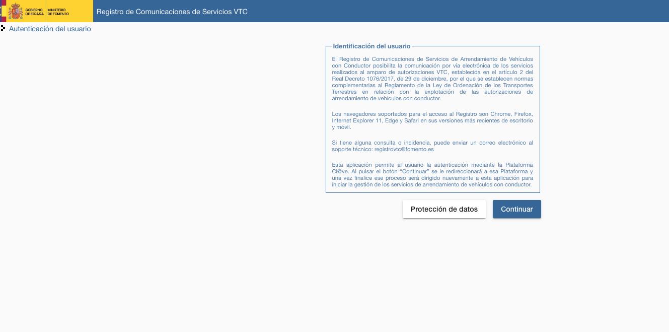En vigor el régimen sancionador para las VTC