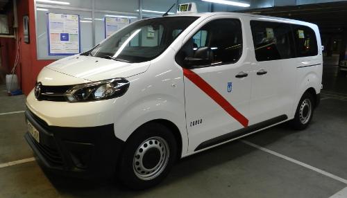 Toyota Proace Verso, nuevo eurotaxi en Madrid
