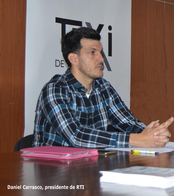 Daniel Carrasco, nuevo presidente de RTI
