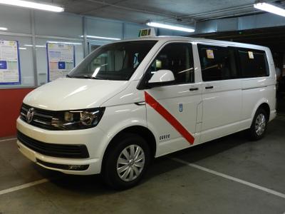 VW Kombi Caravelle se suma a la lista de eurotaxis madrileños