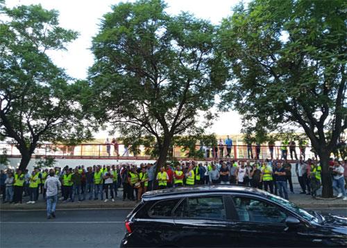 Protesta ante Fomento por el retraso en la regulación de VTCs