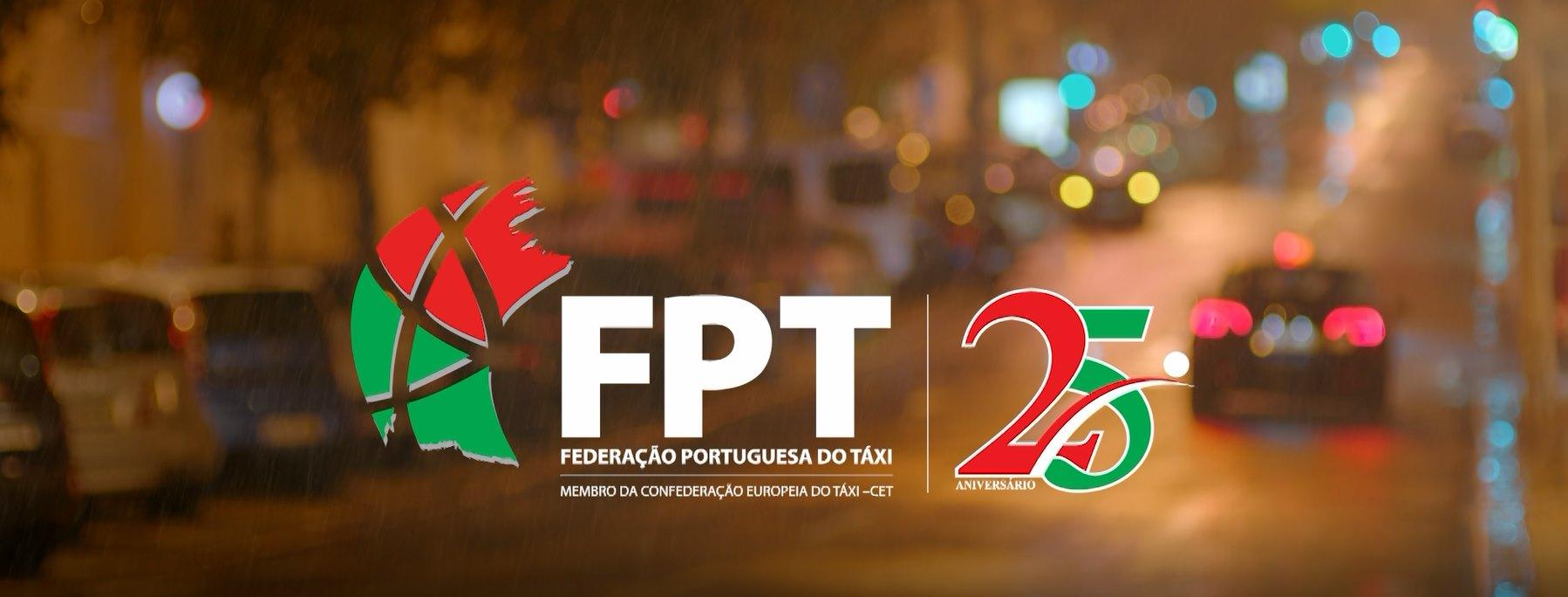 El taxi portugués se promociona en la televisión