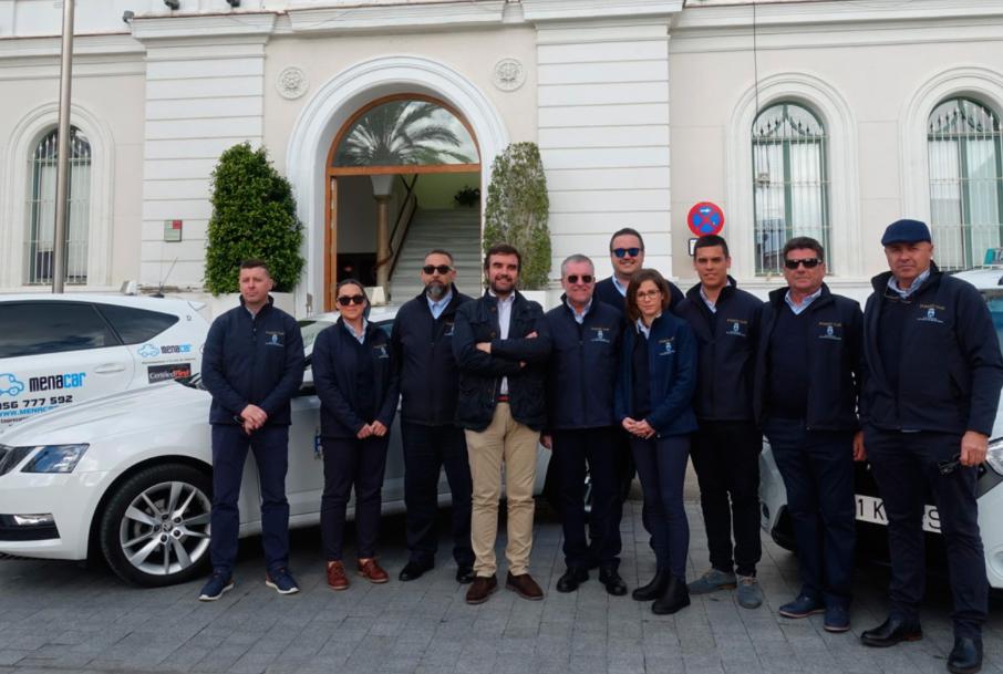 Uniformidad y app, la nueva imagen del taxi de El Puerto