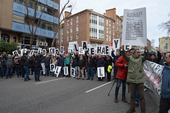 """""""Queremos que se respete en la calle lo que dicen los tribunales"""""""