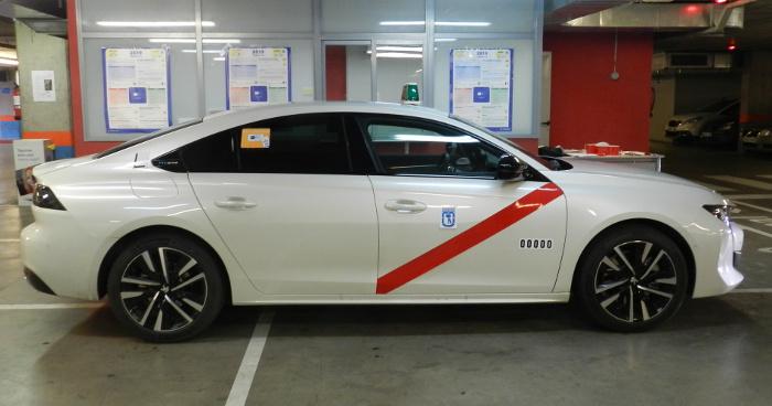 Autorizado en Madrid el Peugeot 508