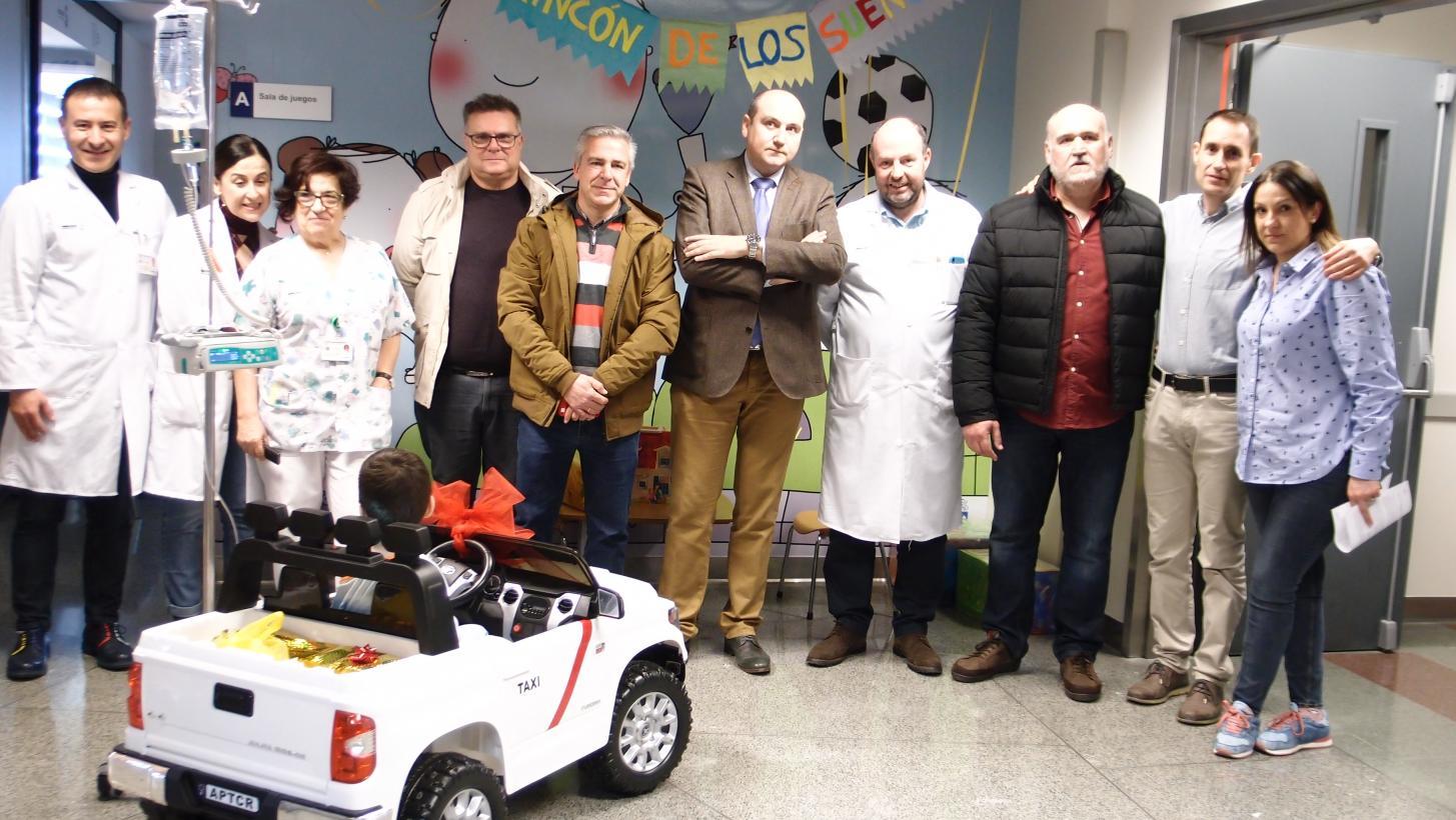 Un mini-taxi para el Hospital Infantil