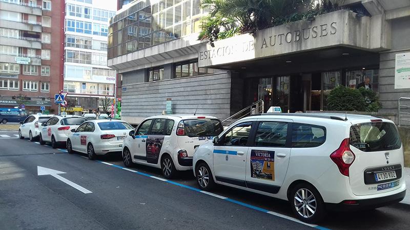 Mamparas para los taxis cántabros