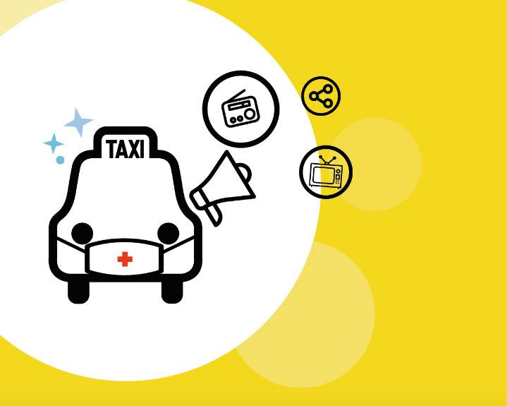Más de 4.000 cuñas para promocionar el taxi