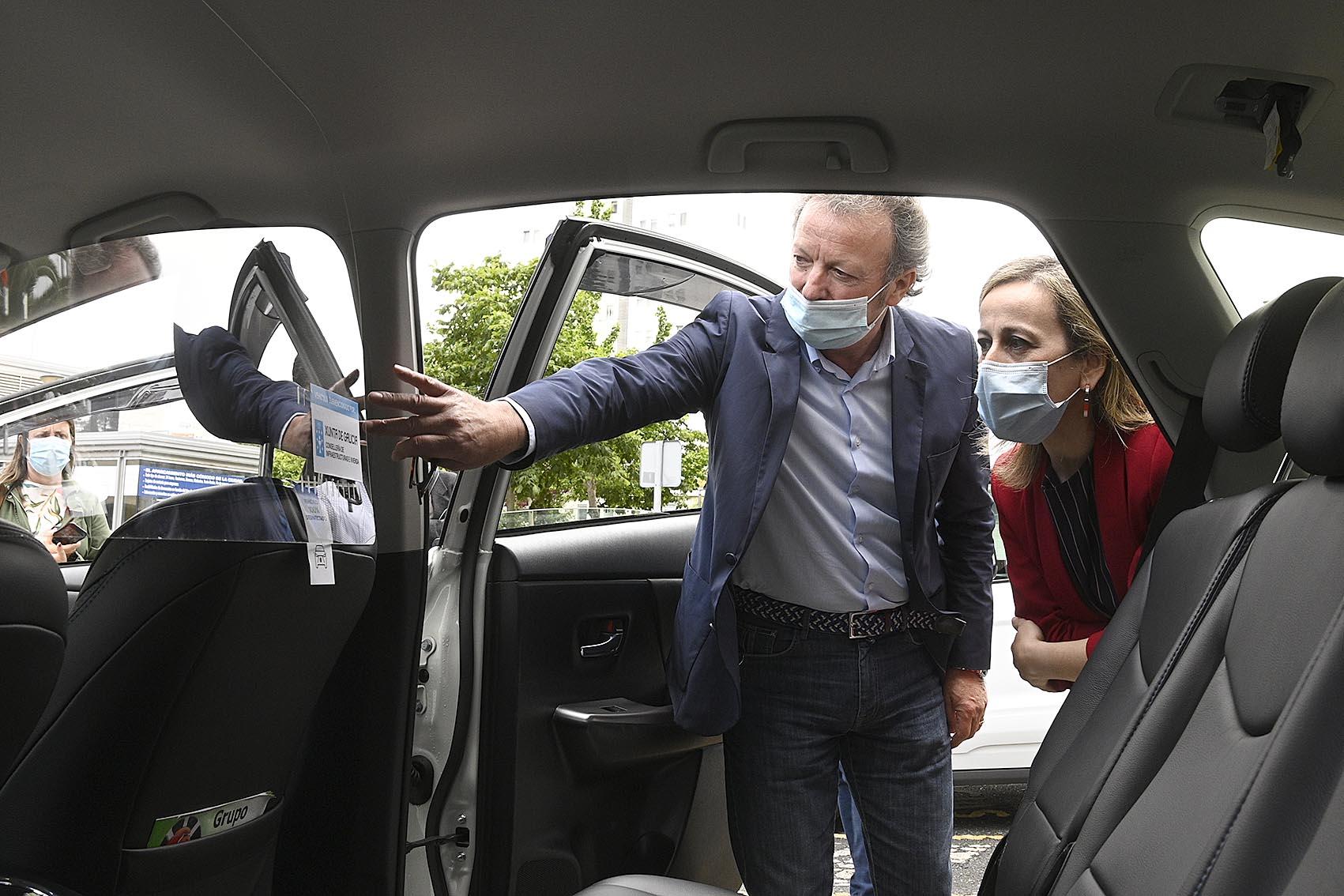 Los taxis gallegos, los primeros en recuperar la normalidad