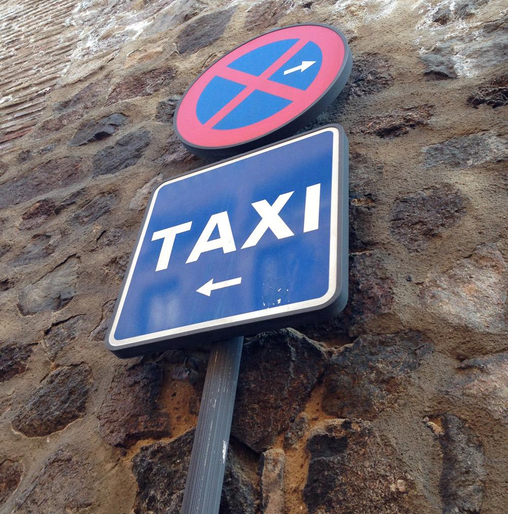 Taxi a demanda en la Sierra Norte madrileña