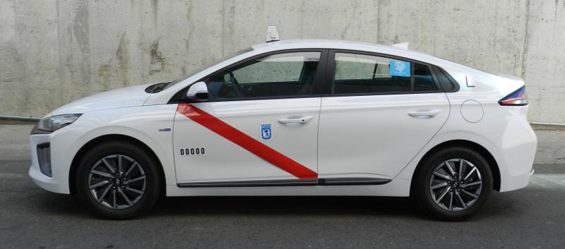 Autorizado como taxi en Madrid el Hyundai IONIQ
