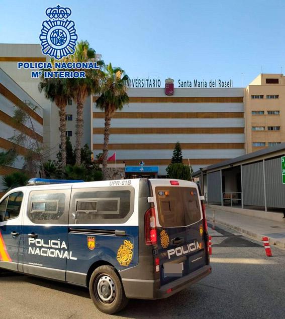 Detenido por no pagar un servicio de taxi de Barcelona a Cartagena