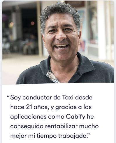 """Taxi Project denuncia a Cabify por """"publicidad engañosa"""""""