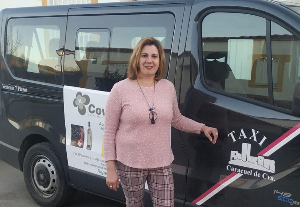 """Rocío Amores, una taxista rural """"excepcional"""""""