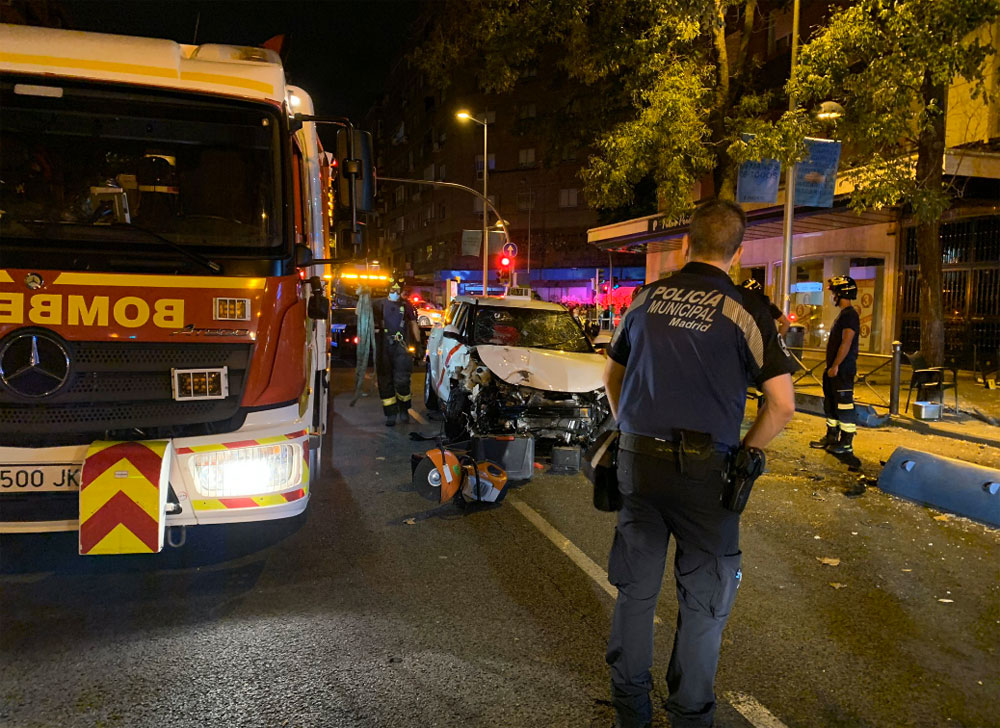 Muere una mujer atropellada por un taxi