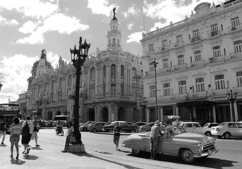 El taxi cubano, carrera al pasado