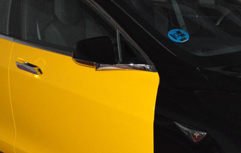 El Model 3, taxi también en Barcelona