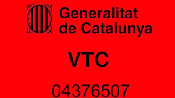 Catalunya entrega a las VTC el distintivo de los días de descanso