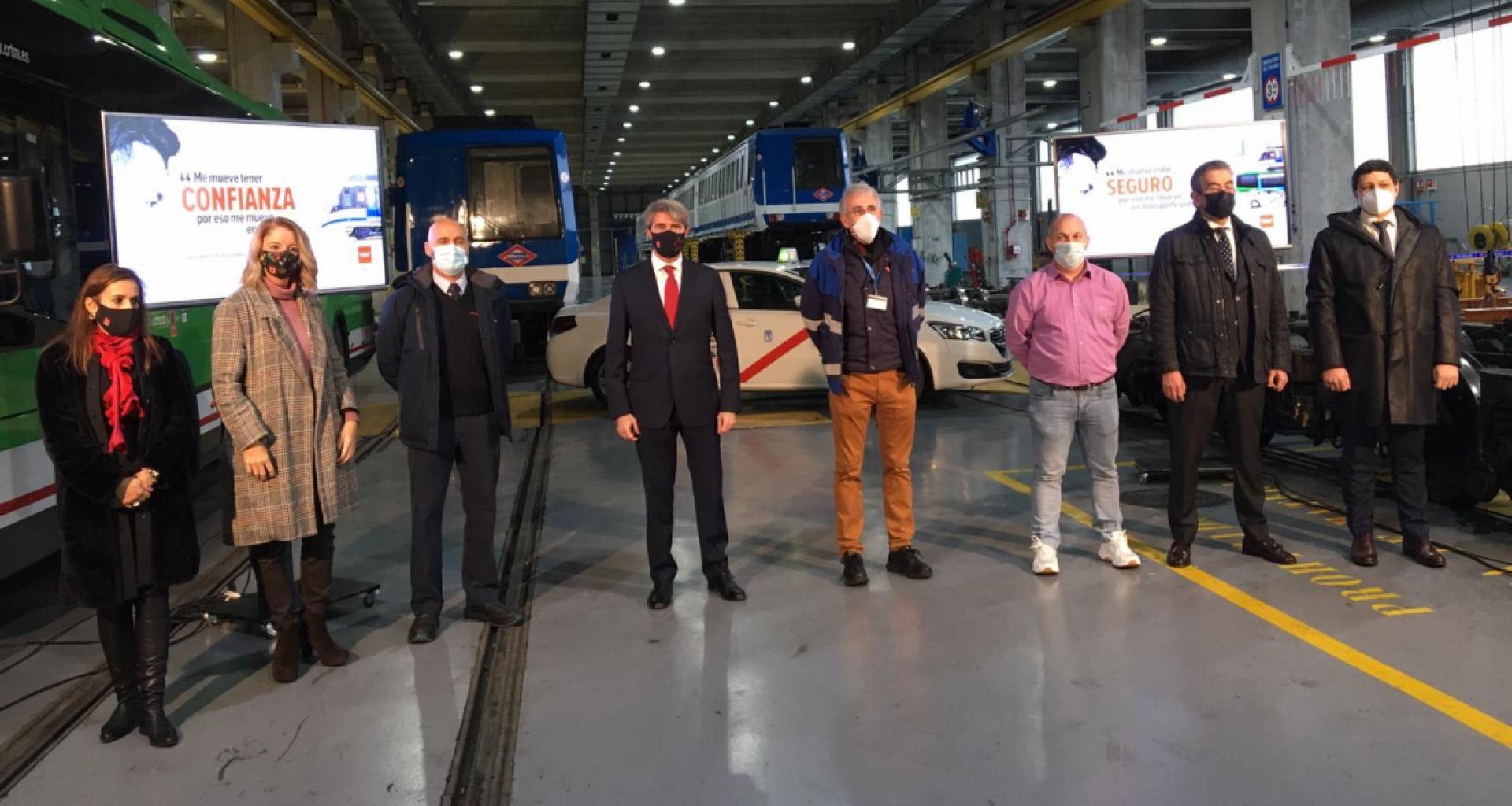 La CAM lanza una campaña de promoción del transporte público