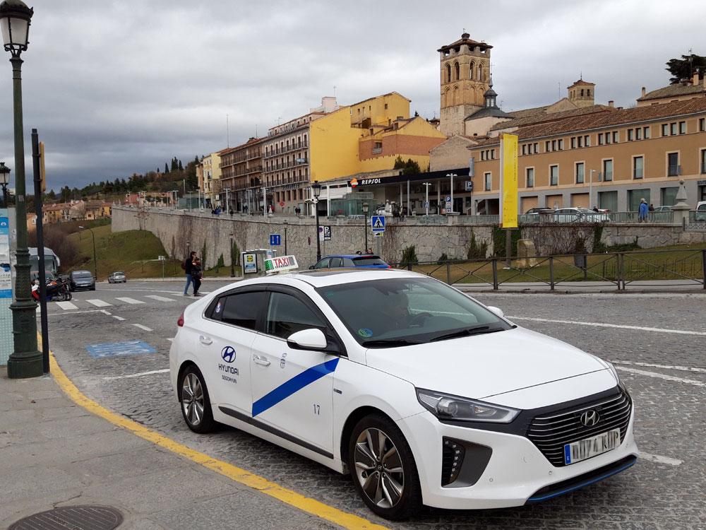 Las vacunas de Segovia también viajarán en taxi