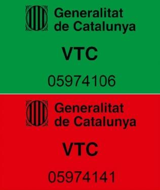 Publicada la obligación de colocar distintivos en las VTC