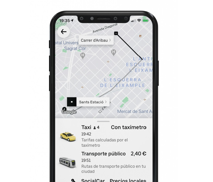 Élite Barcelona pide suspender Uber