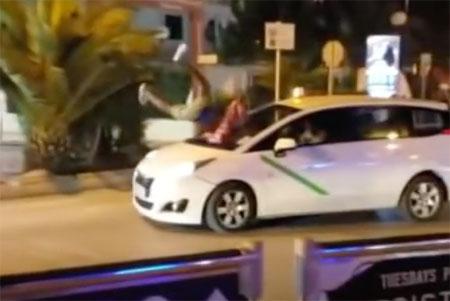 Condenado a pagar 2.600 euros por destrozar un taxi