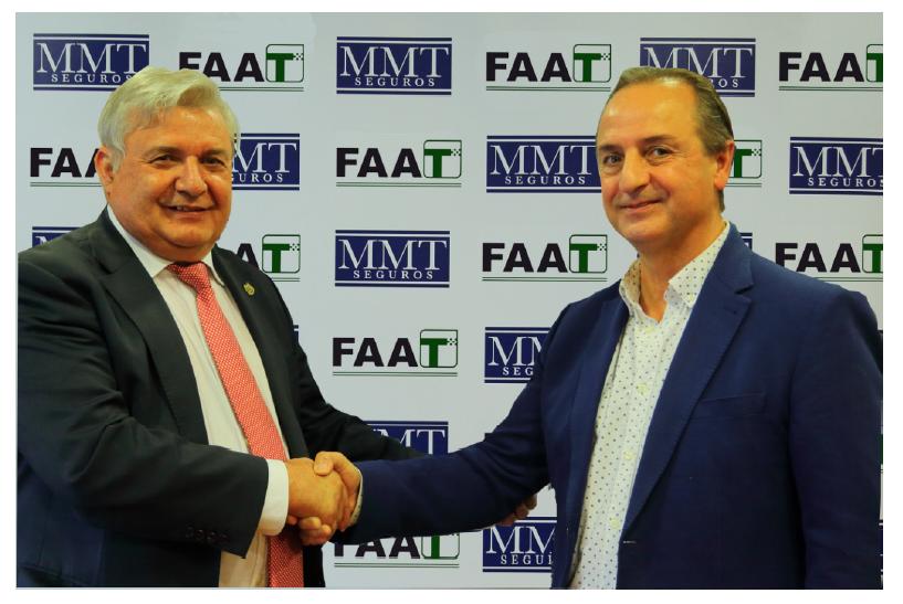 Acuerdo entre MMT y FAAT para asegurar a los taxis andaluces