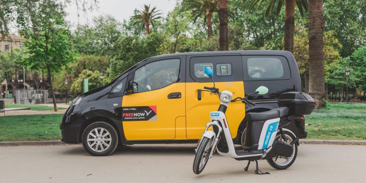 Free Now rompe su exclusividad con el taxi e incorpora motocicletas