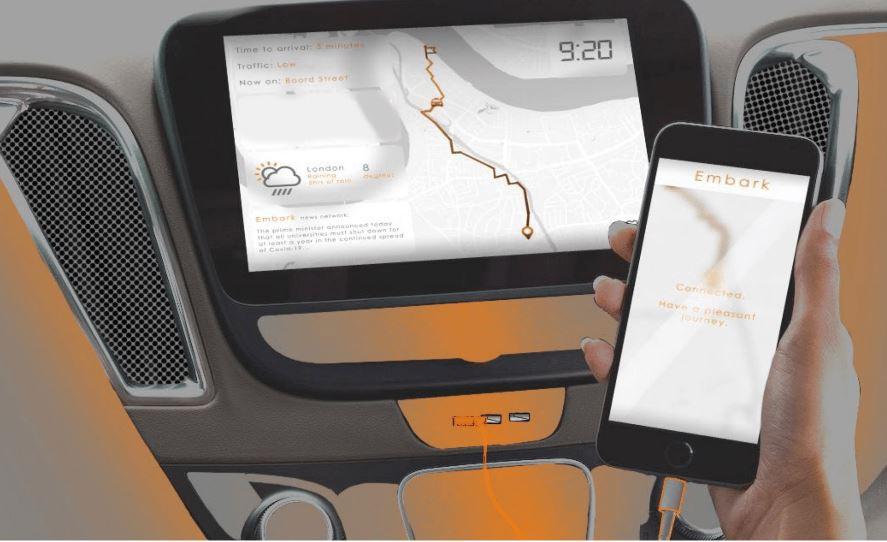 Un taxi autónomo para PMR gana el premio