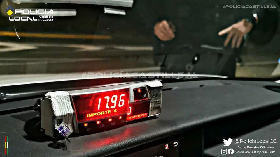 Condenada por estafa por no pagar una carrera de taxi