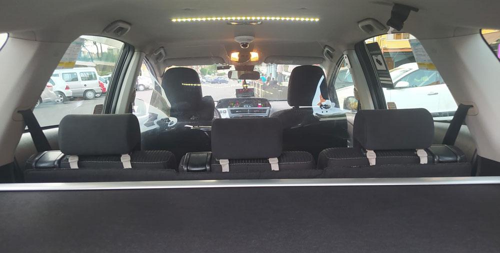 El taxi madrileño refuerza su seguridad