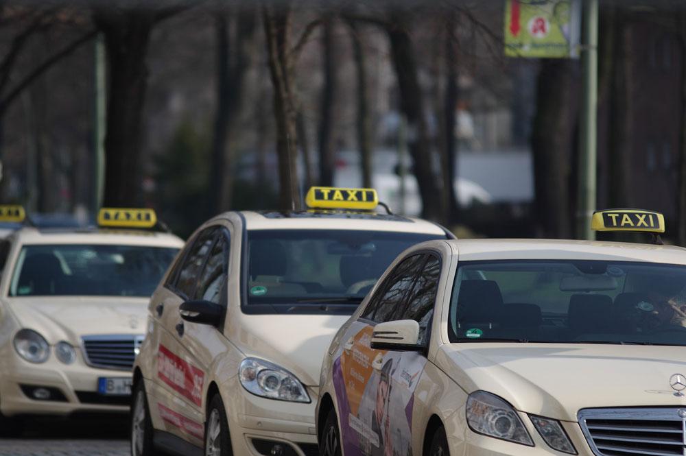Roturas de lunas más frecuentes en los taxis